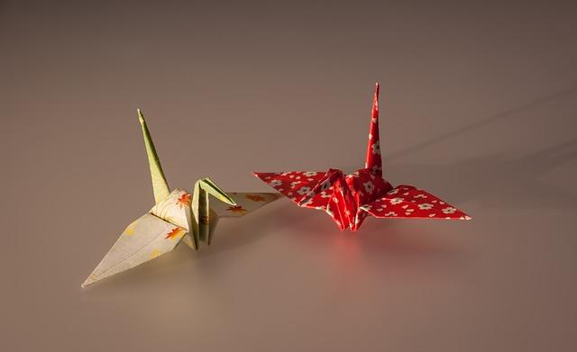 papírové origami