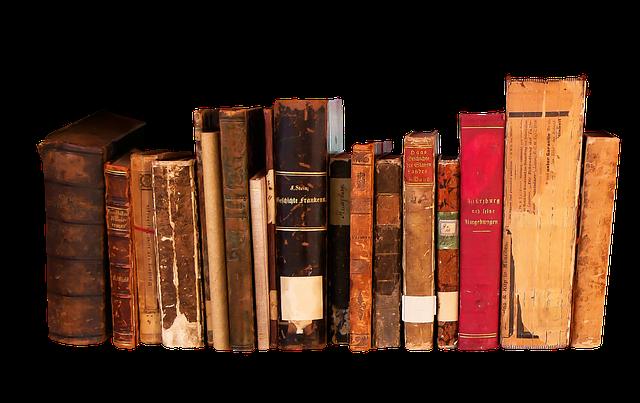 zničené knihy