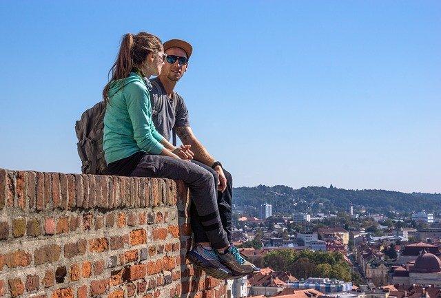 turisté na zdi