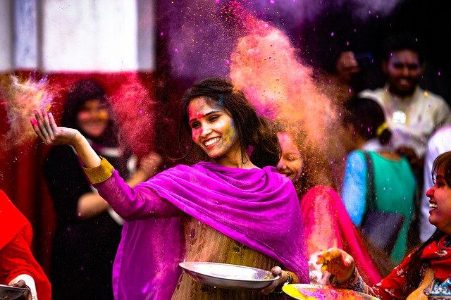 indická zábava