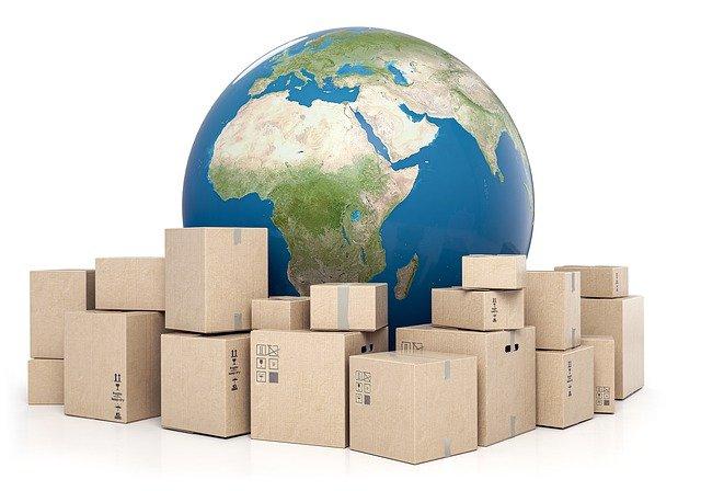 krabice u zeměkoule
