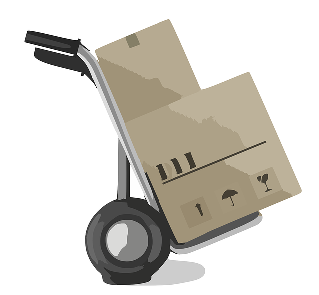 převoz krabic