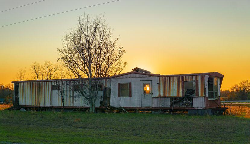 mobilní dům přírodní