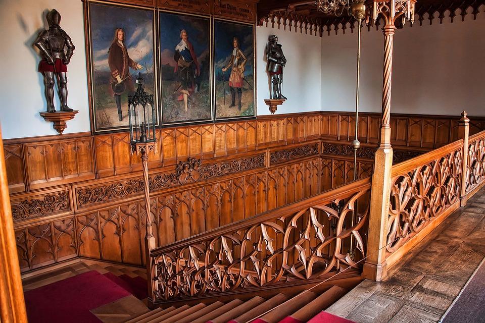 schodiště zámku Lednice